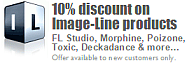 10% discount on Image-Line products